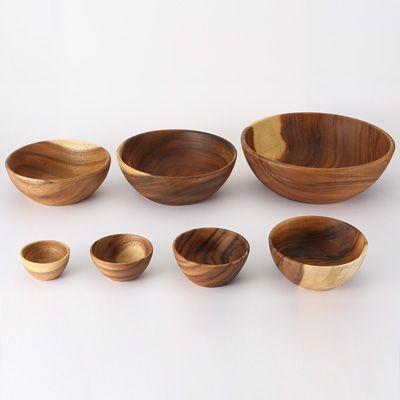 *MUJI 無印良品 acacia bowls