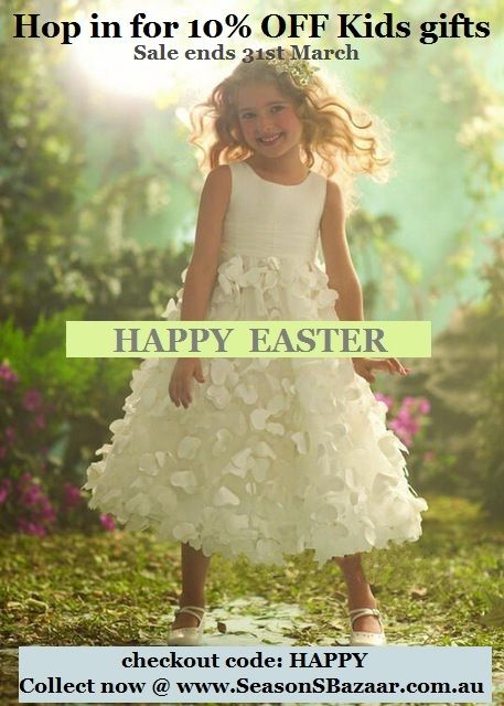 🐇 Hop in and Save ~ the Easter Hunt starts now... 10% OFF Kids gifts @ Seasons Bazaar Australia ~ 🐇 hurry Sale ends 31st March 2017 🐇  #sale #Australia #Seasons #Bazaar #Easter #Hunt #gifts #noveltygifts #giftsforkids #giftsformen #giftsforher #EasterSale #homedecor #cushions #children #uniquegifts #onlineshopping #gadgets #birthdaygift #Eastergift #Sydney #Melbourne #Brisbane #HappyEaster #EasterBunny #Rabbit