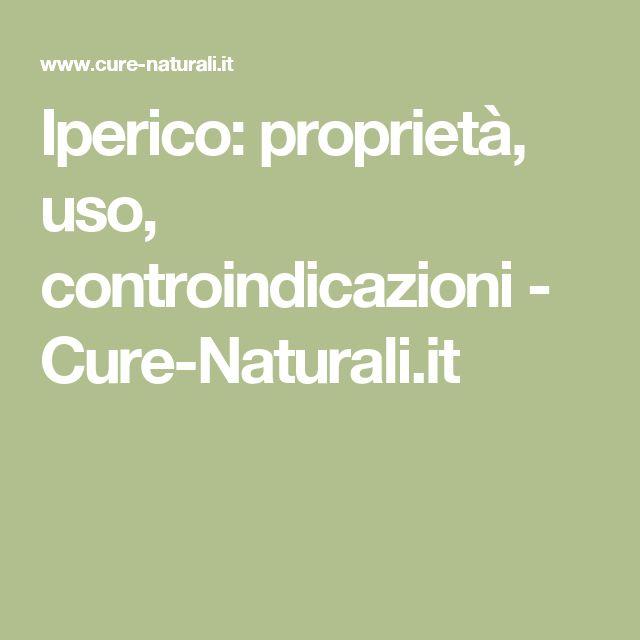 Iperico: proprietà, uso, controindicazioni - Cure-Naturali.it