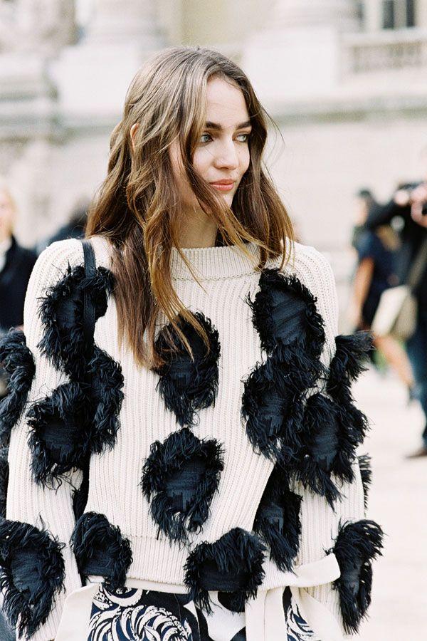 Vanessa Jackman: Paris Fashion Week AW 2015....Zuzanna