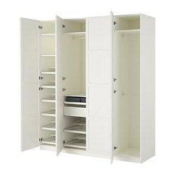 kuchenschranke ikea aufhangen : IKEA - PAX, Kleiderschrank, Scharnier, sanft schlie?end, , Inklusive ...