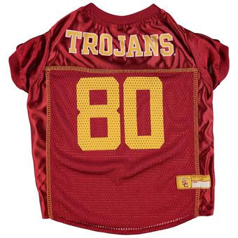 USC Trojans Mesh Dog Football Jersey