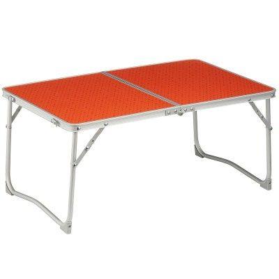 Montagne_equipt Camping - Lage tafel oranje QUECHUA 14,99