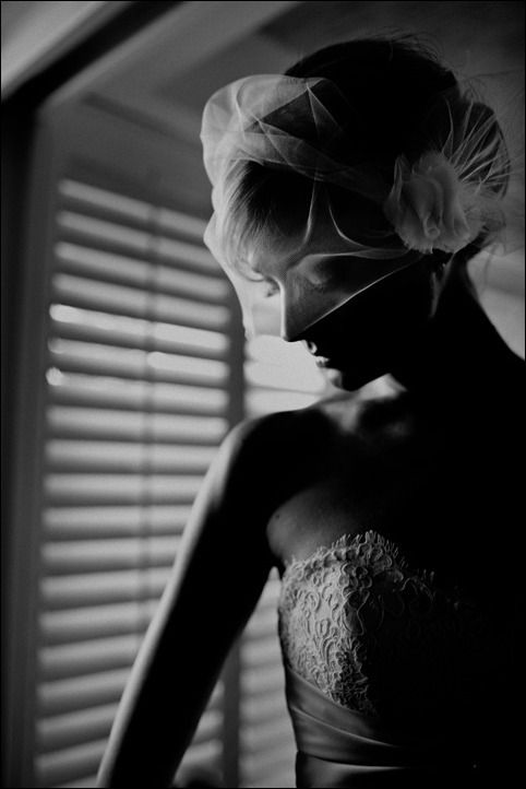 nice bridal photography in black and white