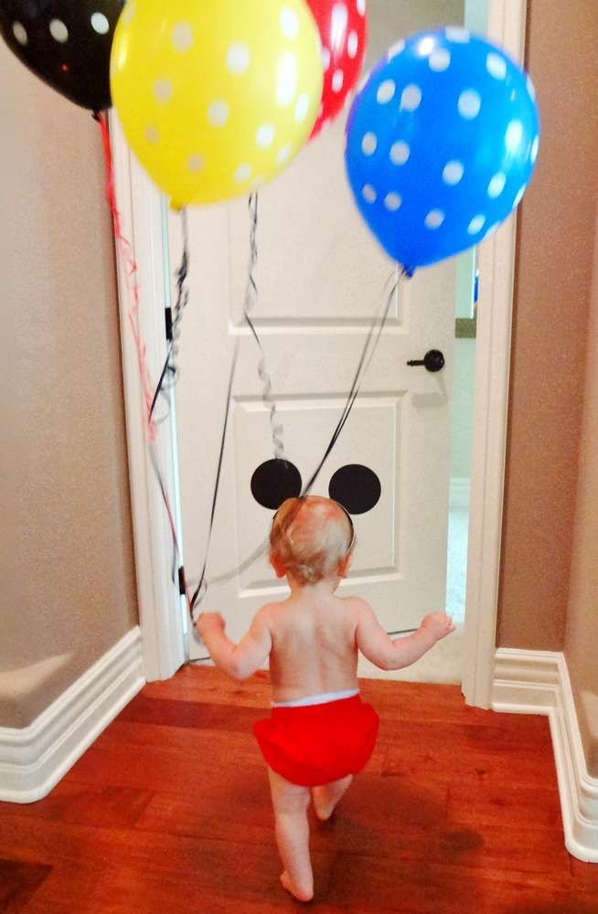 Mickey Mouse Birthday Party Ideas   Photo 4 of 23   Catch My Party