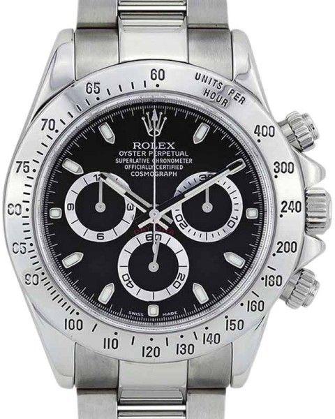 Rolex Daytona 116520 Stainless Steel 40mm Mens Watch