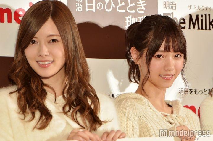 白石麻衣、西野七瀬(C)モデルプレス
