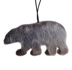 Isbjørn i sælskind - julepynt