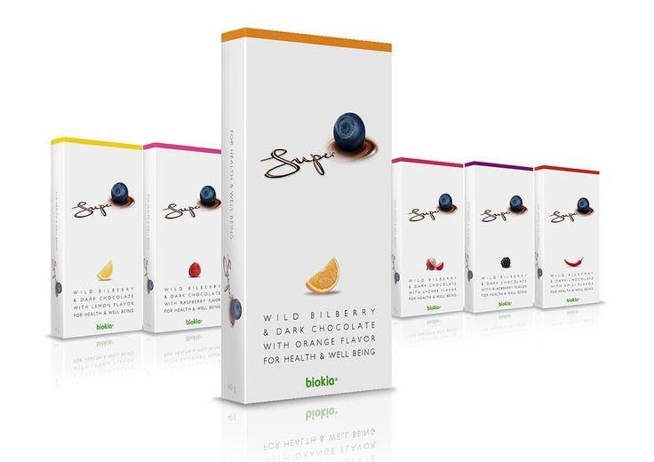 Biokia - Suklaamarjat: Tuoteideointi, pakkaussarjan suunnittelu, pakkaussuunnittelu