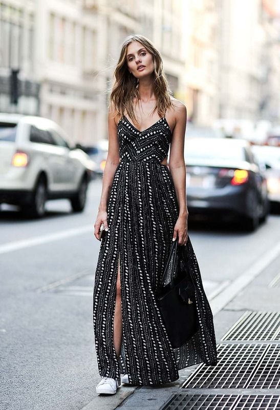 flowy maxi dress #style | @andwhatelse