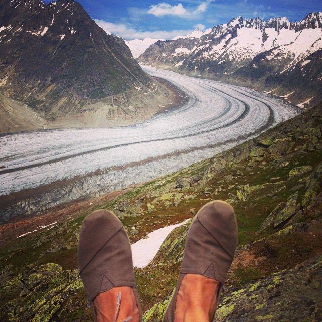 Glaciar Aletsch (Aletschgletscher)