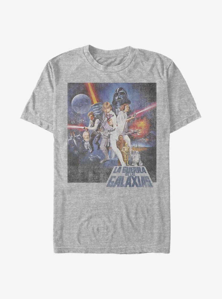 Star Wars La Guerra De Las Galaxias T-Shirt Hot Topic, Products, Star Wars, Gadget