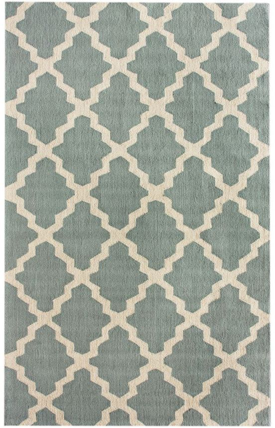 HomespunMoroccan Trellis Rug Dining Room