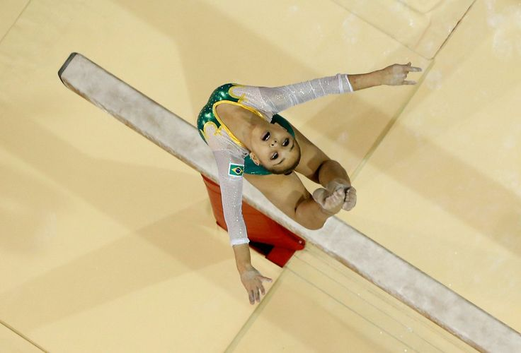 Fall in Love With Flavia Saraiva, Brazil's Breakout Star Gymnast