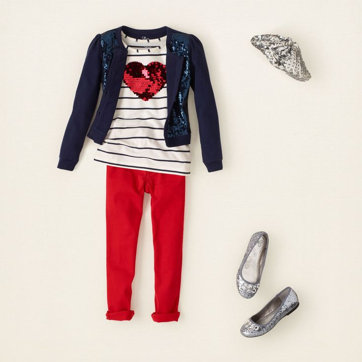 girl - outfits - I heart jeggings | Children's Clothing | Kids Clothes | The Children's Place
