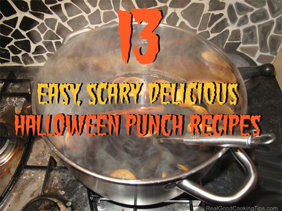 13 easy scary delicious halloween punch recipes for kids and adults - Easy Alcoholic Halloween Punch