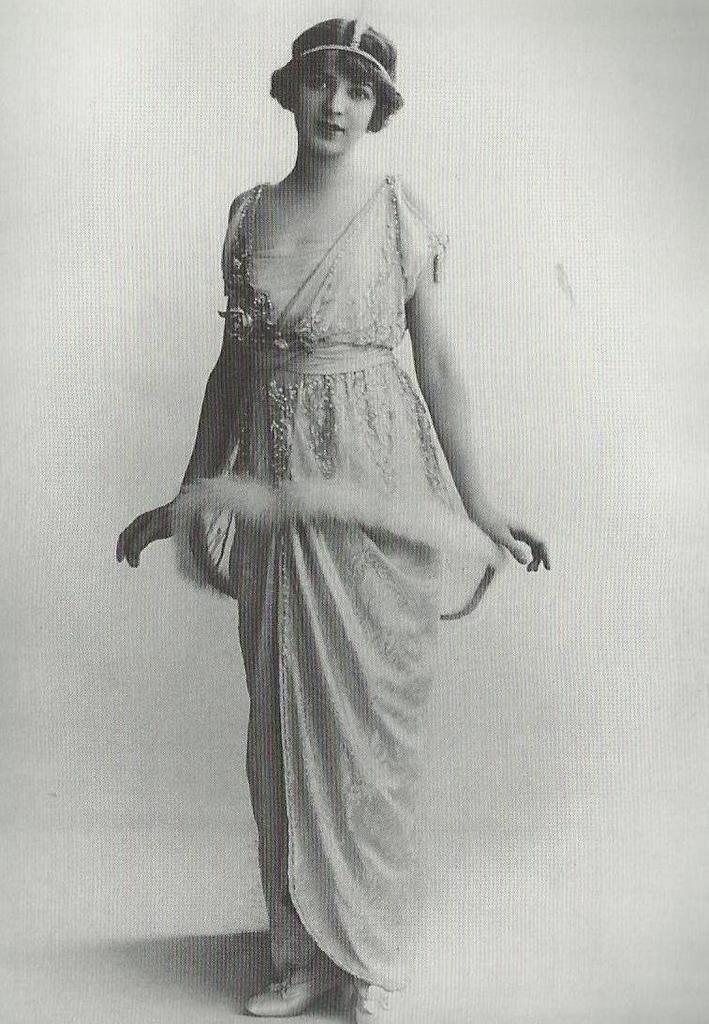 robe belle époque Ina Claire - robe