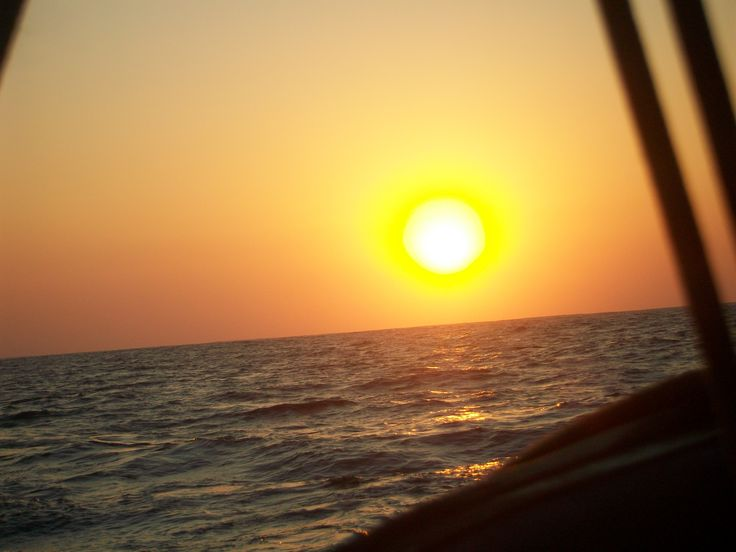 Sunset at sea on the Wild coast South Africa