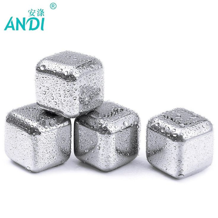 5 Whiskey Stainless steel Stones