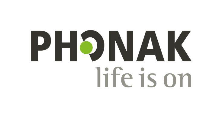 Logo Phonak life is on en 2020 Logotipo de apple