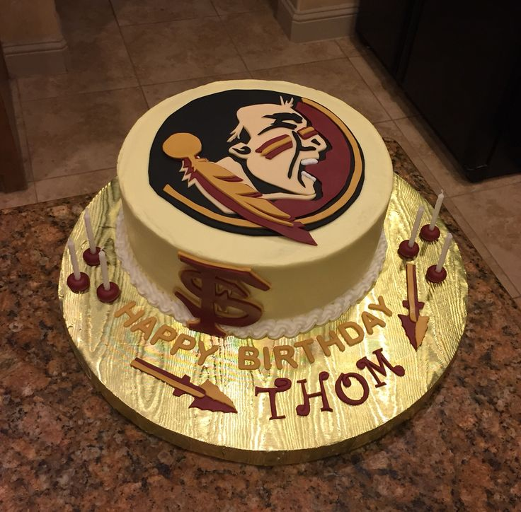 Florida State University Cake Go Seminoles My Cakes