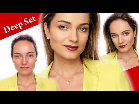 What can you do for DEEP SET EYES to make them pop? - YouTube