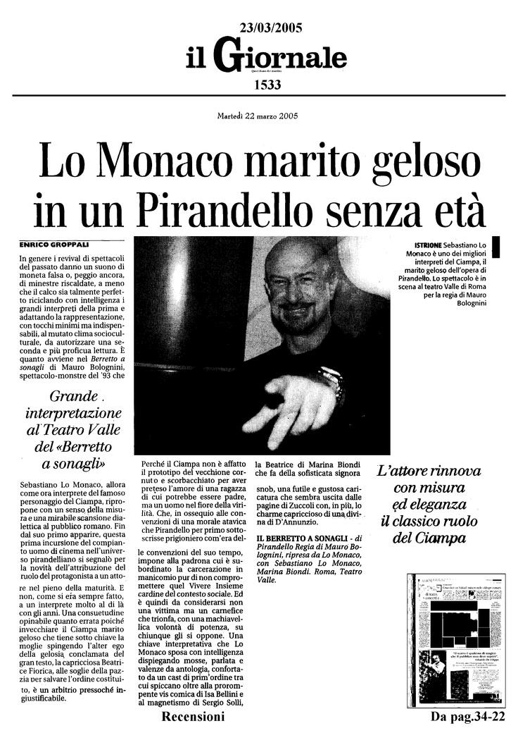 23 marzo 2005 - Il Giornale
