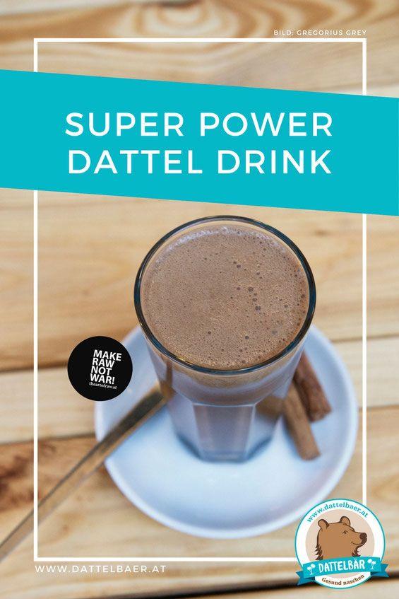 Super-Power-Dattel Drink: Chai-Bobo-Latte - Dattelbär´s Webshop - frische Rohkost Datteln kaufen - gesund naschen