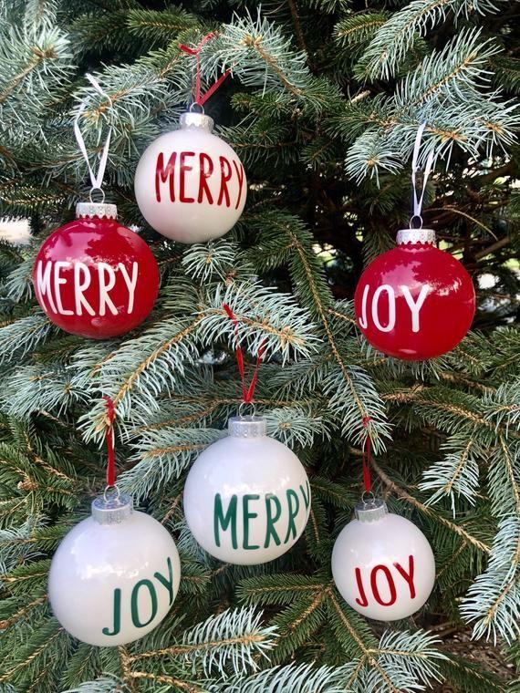 Christmas Ornament Christmas Vinyl Crafts Merry Christmas Quotes Christmas Crafts Diy