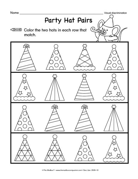Printables Visual Discrimination Worksheets 1000 images about visual discrimination on pinterest maze toys free printable worksheets