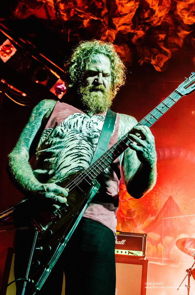 Brent Hinds - Mastodon, Blue Eyed Devils, Fiend Without a Face, The Blood Vessels, West End Motel, Four Hour Fogger, Giraffe Tongue Orchestra, Legend of the Seagullmen, Bevan Davies