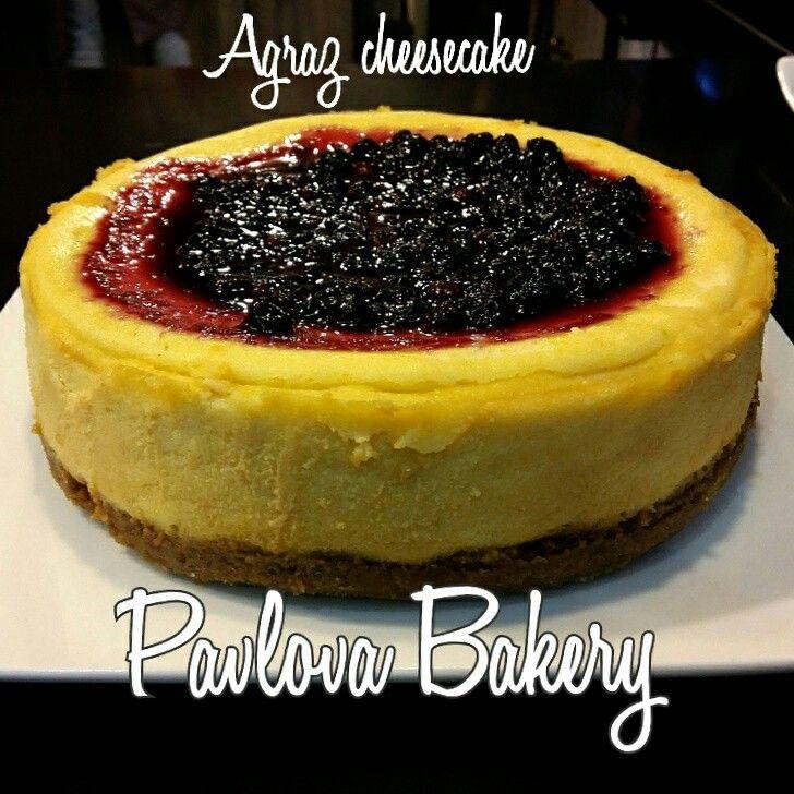 Agraz cheesecake
