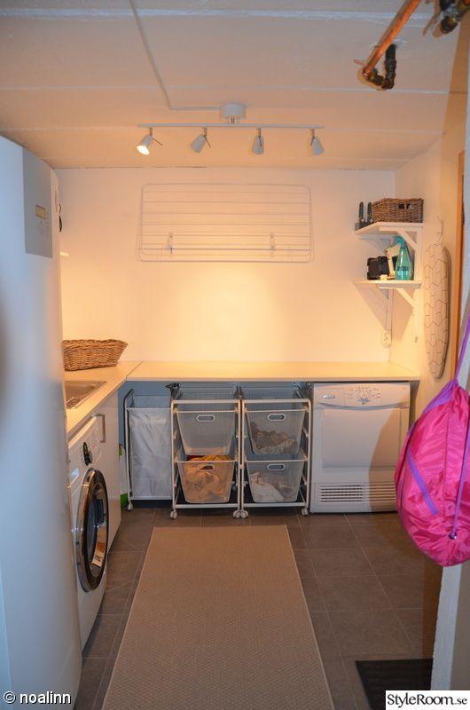 tvättstuga,strykbräda,torkställning,tvättsortering
