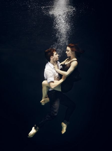 Underwater Dance photographed by Henrik Sorensen Photography- ONE EYELAND