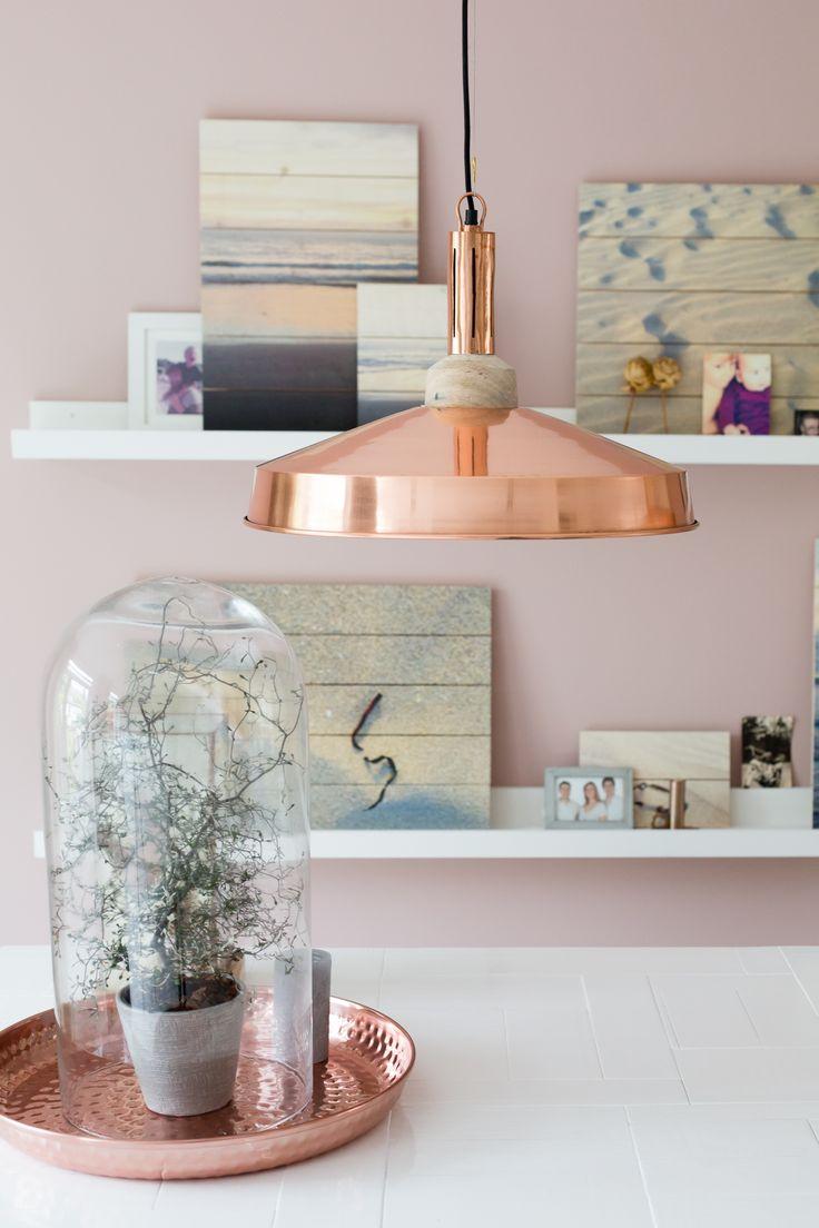 17 best images about powder pink poeder roze on pinterest copper powder and pastel - Trendy slaapkamer ...
