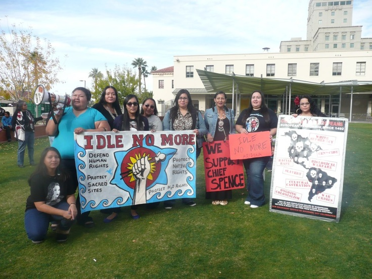 LTA Examiner - Online Information for BC Teachers: Pictures: Idle No More support for Canadian First Nations continues to spread across the US, Europe and globally.