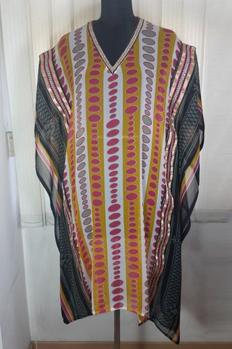 Festive season is on .. Go for this Georgette Kaftan and grab the attention.