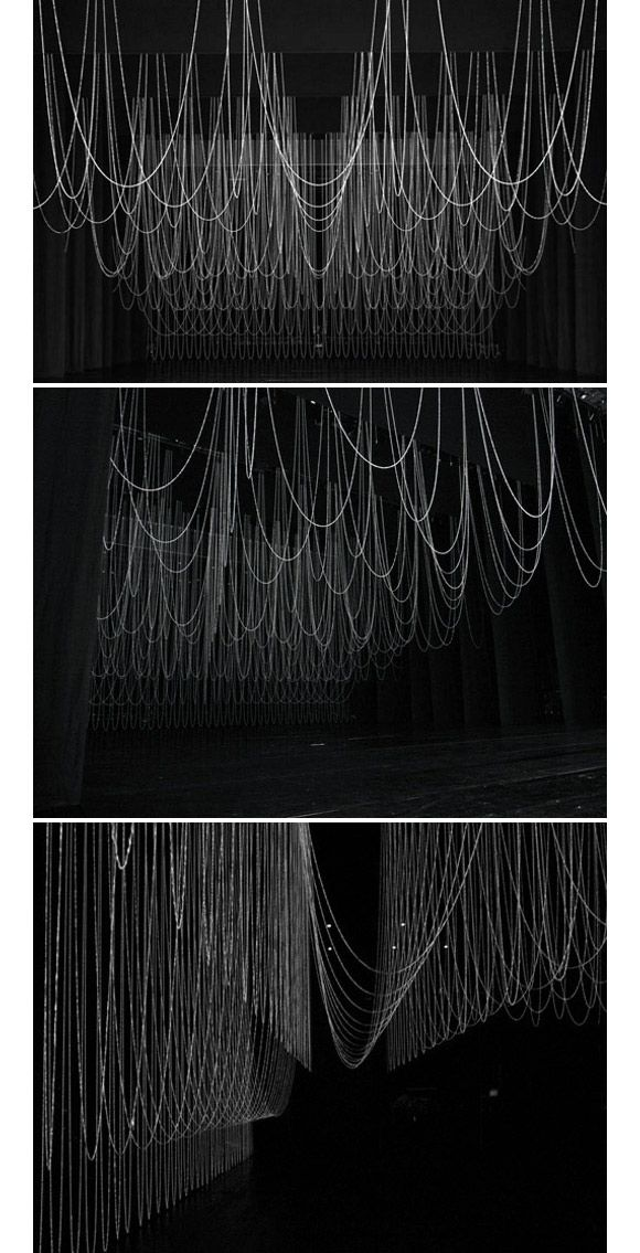"""Set design for Opera """"Le Grand Macabre"""" at New National Theatre, Tokyo. By Ryuji Nakamura."""