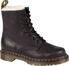 Women's+Dr.+Martens+Serena+Fur+Lined+8+Eye+Boot+-+Black+Burnished+Wyoming+with+FREE+Shipping+&+Exchanges.+The+Serena+Fur+Lined+8+Eye+Boot+Fully+features+an+iconic+boot+silhouette+