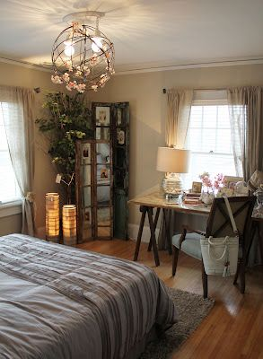 Love this color palette and design.  Guest room maybe?Itsy Bit, Bachman Spring, Master Bedrooms, Tours 2012 Bachman, Dreams Room, Ideas House, Spring Ideas, Decor Blog, Bedrooms Ideas