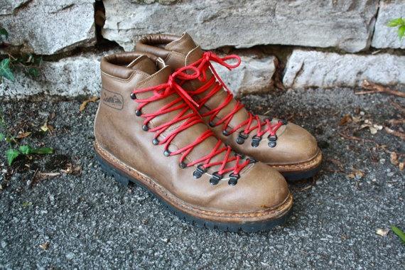 Fabiano Scarpa Mountaineering Boots Made in by flickaochpojke, $120.00