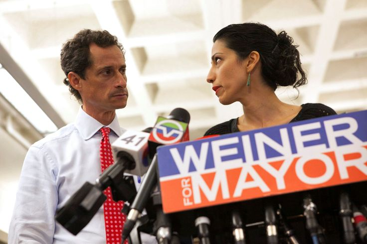 FOX NEWS: Huma Abedin cried over FBI investigation into Weiner sexting leaked Clinton excerpt shows Hillary Clinton recalls aide Huma Abedin bursting into tears when learning the FBI re-opened its investigation into Clintons emails because of Anthony Weiners sexting scandal according to a leaked excerpt from Clintons forthcoming book.