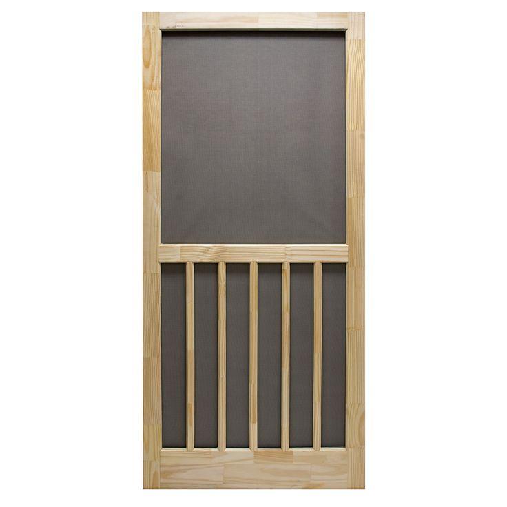 Superior Products Corp® Nantucket 36in Wood Screen Door (3952NA3068) - Doors & Door Hardware Kits - Ace Hardware