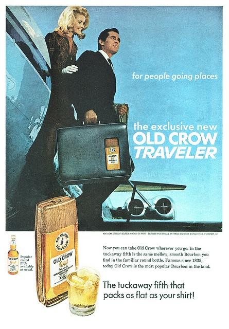 Old Crow Bourbon - 1967