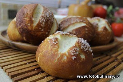 """Немецкие булочки-брецели """"Laugenbrotchen"""" - Выпечка,тортики и прочее - Кулинарные рецепты ! - ФотоКулинария"""