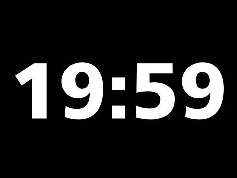 20 Minute Countdown Timer + Download it. Simple format. - YouTube