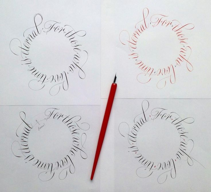 1000 Images About Calligraphy On Pinterest Typography