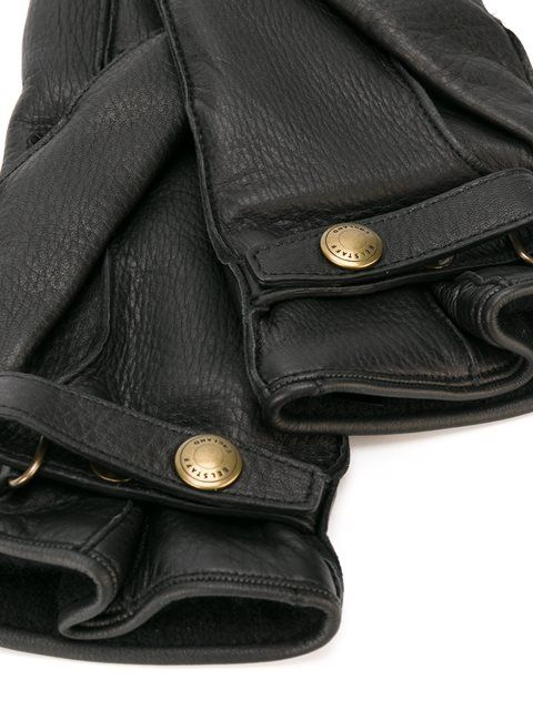 Belstaff wrap detail gloves