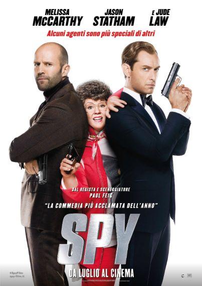 Spy (film, commedia) diretto da Paul Feig ... dal 15 luglio 2015 al #cinema .. #film #trailer