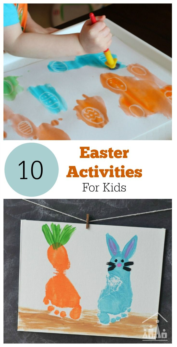 Easter arts and crafts for preschoolers - A Round Up Of 10 Of The Best Easter Arts And Crafts Activities To Keep Your